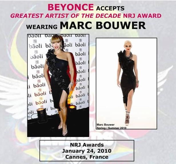 BEYONCE IN MARC BOWER