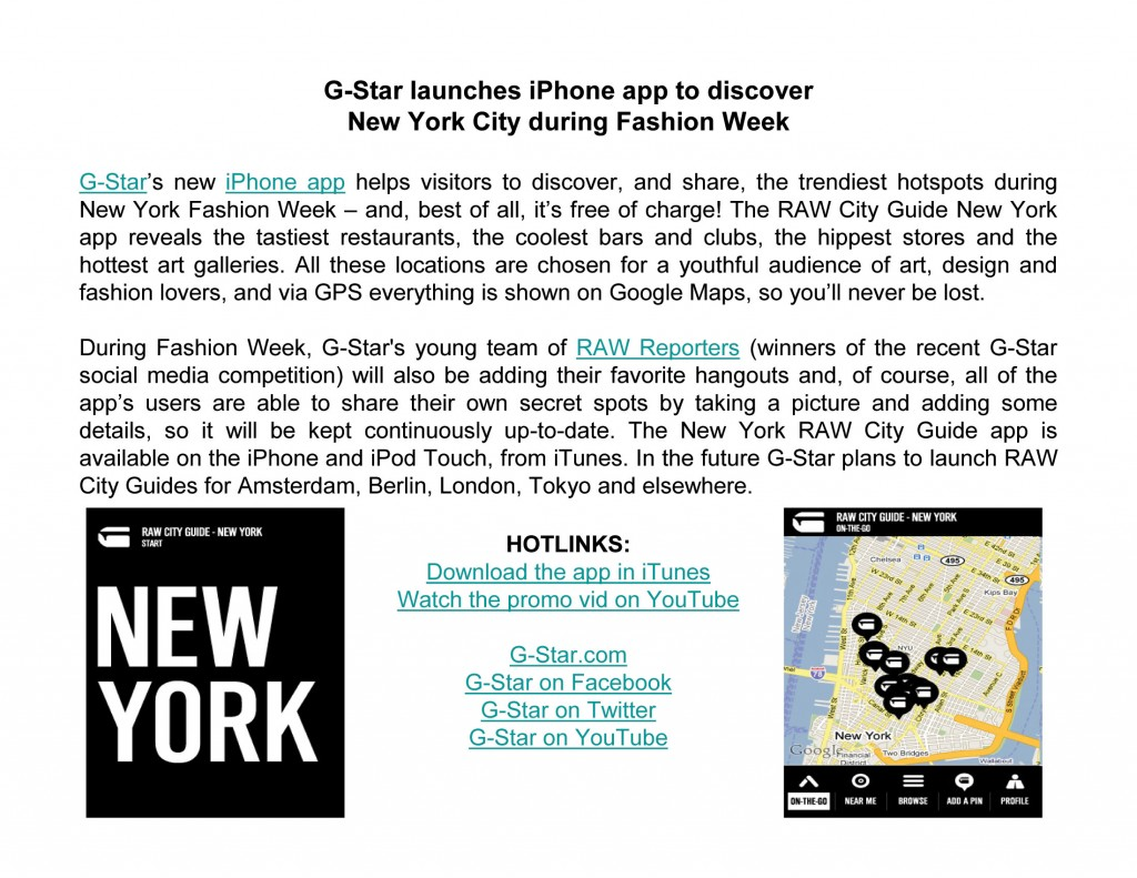 G-Star-Iphone-app