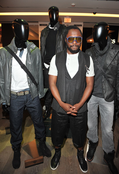 Will I Am Clothing Line Launch