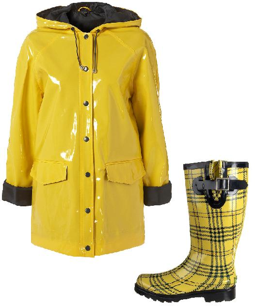 Girls in Plastic Rainwear | Reference.com Answers