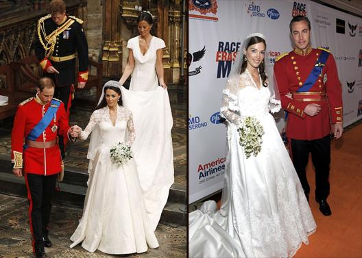 Designers Rush To Copy Kate Middleton&-39-s Wedding Dress -