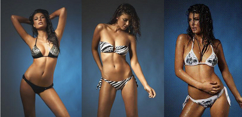 Angela's search for the perfect black or white bikini led her to create the ...