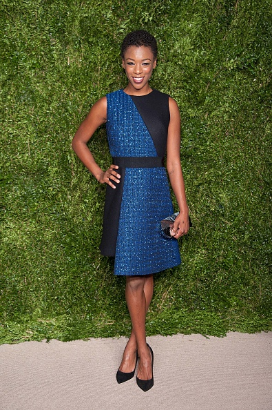 NEW YORK, NY - NOVEMBER 02:  Samira Wiley attends the 12th annual CFDA/Vogue Fashion Fund Awards at Spring Studios on November 2, 2015 in New York City.  (Photo by D Dipasupil/FilmMagic)
